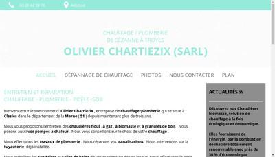 Site internet de Olivier Chartiezix