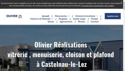 Site internet de Olivier Realisations