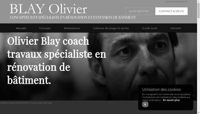 Site internet de Blay Agencements