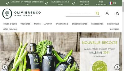 Site internet de Oliviers et Co