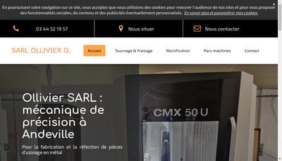 Site internet de Ollivier Gabriel