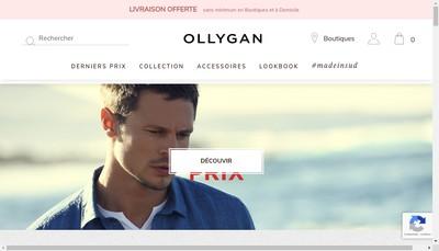 Site internet de Olly Gan