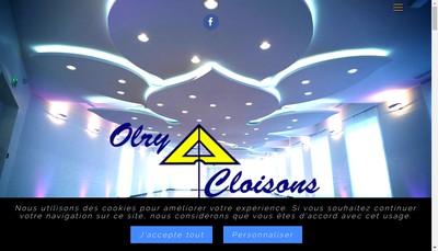 Site internet de Olry Cloisons