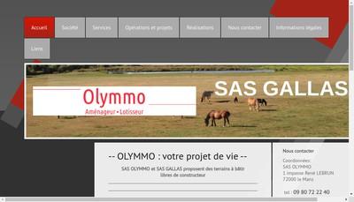 Site internet de Olymmo
