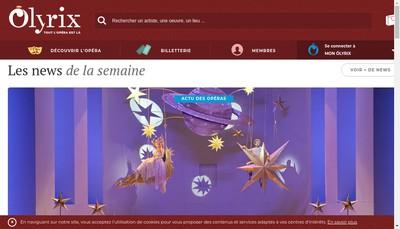 Site internet de Olyrix