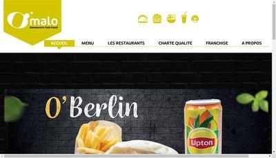 Site internet de O'Malo