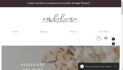 Site internet de Ombeline Brun