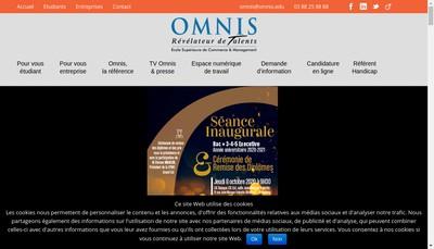Site internet de Omnis