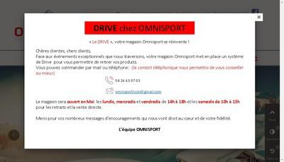 Site internet de Omnisport