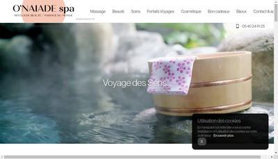 Site internet de O'Naiade
