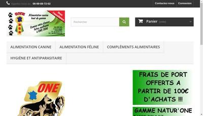 Site internet de Dog Food