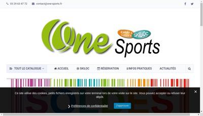 Site internet de One Sports-Skiloc