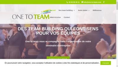 Site internet de Onetoteam