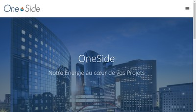 Site internet de Oneside Consulting Group