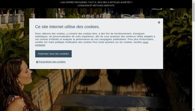 Site internet de One Step Marketing