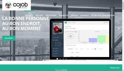 Site internet de Oojob