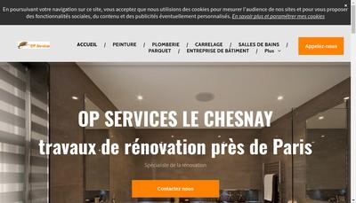 Site internet de Op Services