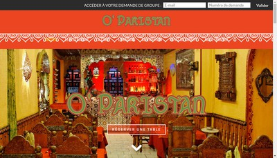 Site internet de O'Pakistan