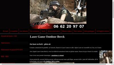 Site internet de Opale Laser