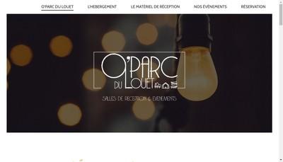 Site internet de O'Parc du Louet