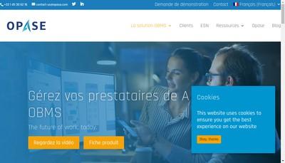 Site internet de Opase
