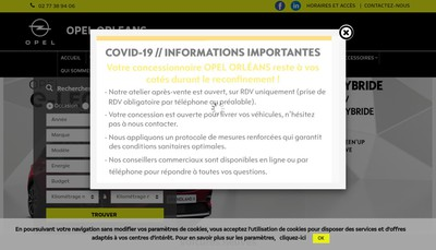 Site internet de Oreda