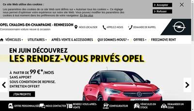 Site internet de Rennesson