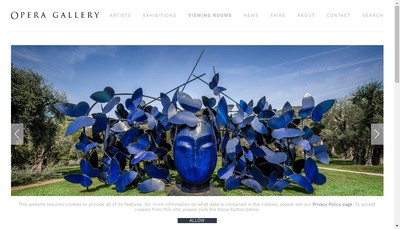 Site internet de Opera Gallery