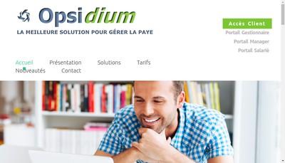 Site internet de Opsidium