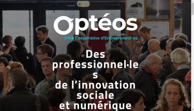 Site internet de Opteos