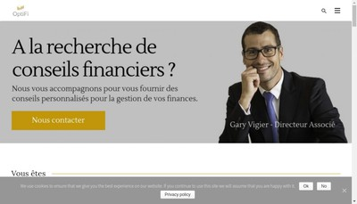 Site internet de Fmu Finance SARL