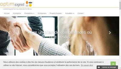 Site internet de Optimexpat