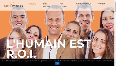 Site internet de Optimark