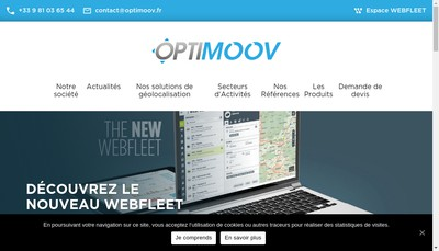 Site internet de Optimoov