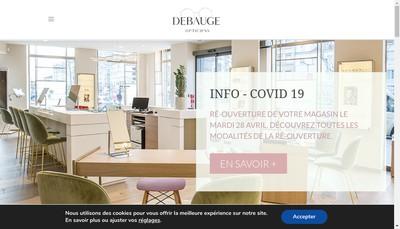 Site internet de Debauge