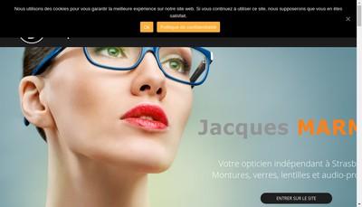 Site internet de Optique Marmet Jacques