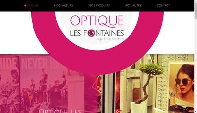 Site internet de Optique Saint Nicolas