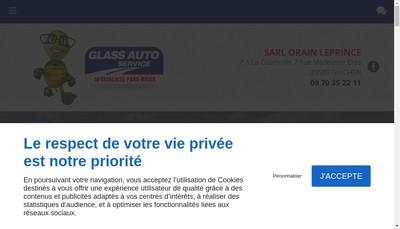Site internet de SARL Orain Leprince
