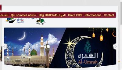 Site internet de Oran Voyages