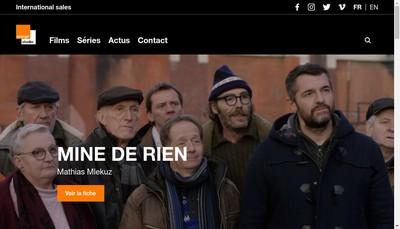 Site internet de Orange Studio