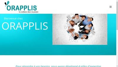 Site internet de Orapplis