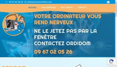 Site internet de Ordidom