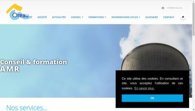 Site internet de Oreau