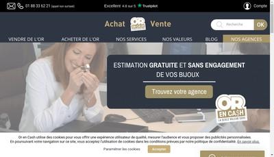 Site internet de Orencash