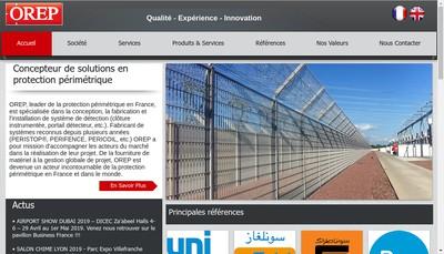 Site internet de Orep