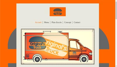 Site internet de Original'S Truck