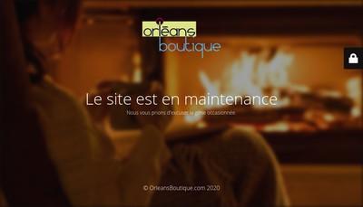 Site internet de Orleansboutique Com