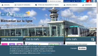 Site internet de Rvs Orly Ouest 1