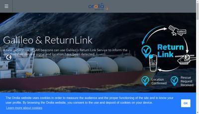 Site internet de Orolia SAS