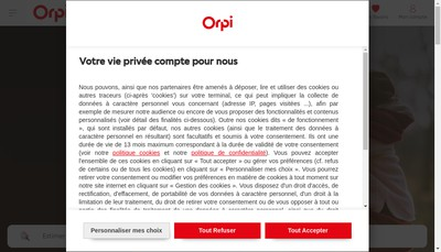 Site internet de Orpi